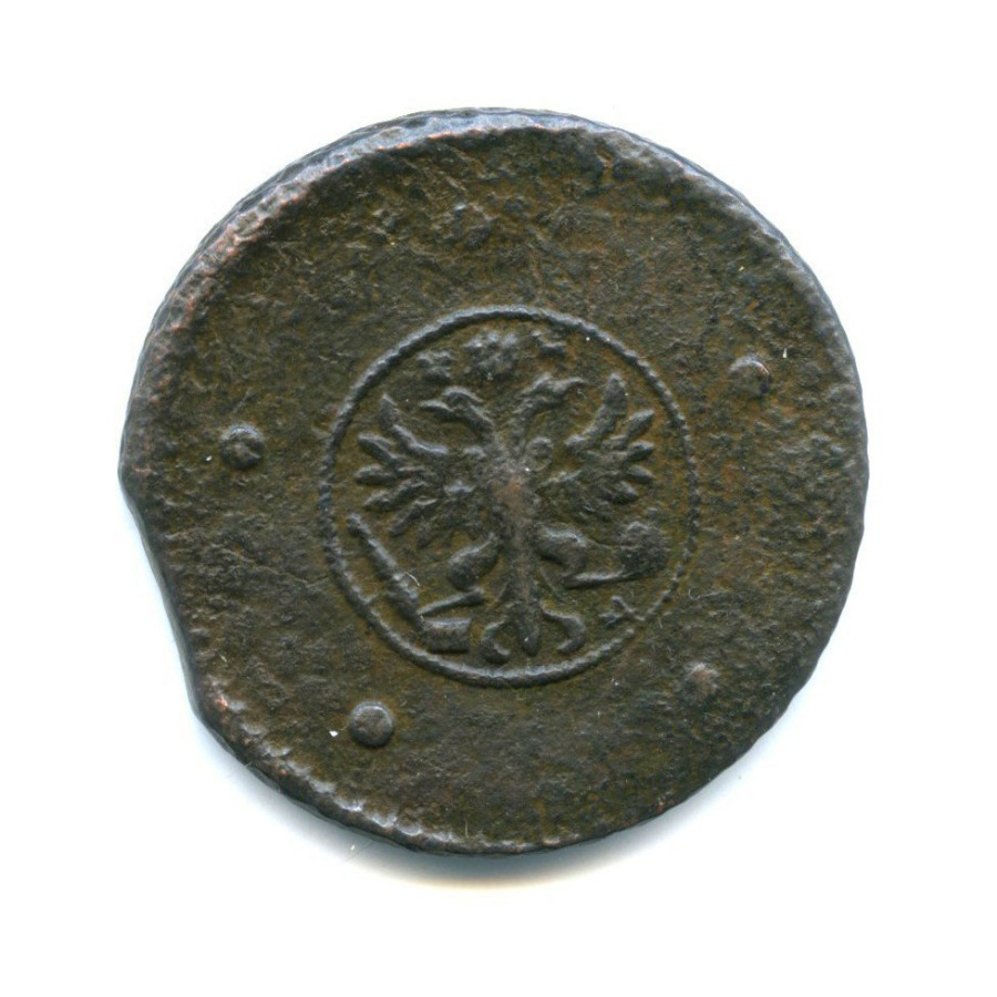 5 копеек («крестовые») 1729 года МД (Российская Империя)