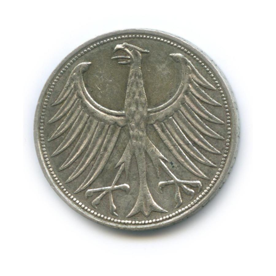 5 марок 1964 года J (Германия)