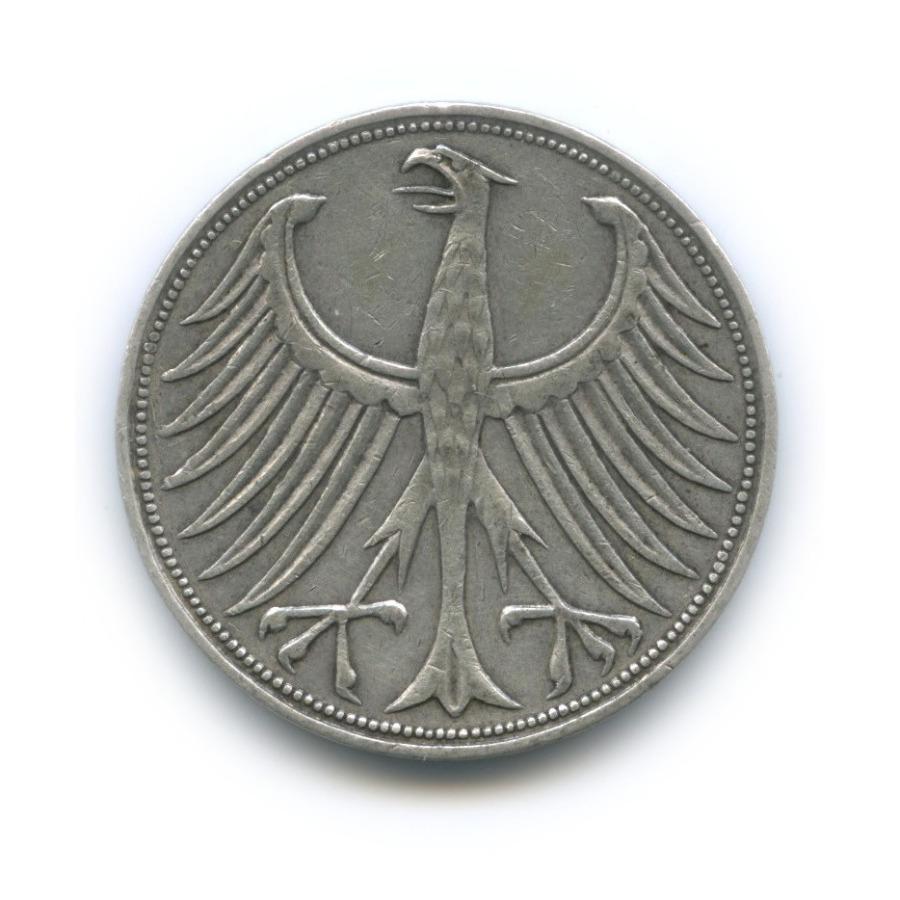 5 марок 1960 года J (Германия)