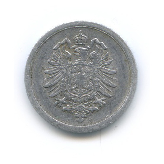1 пфенниг 1917 года J (Германия)