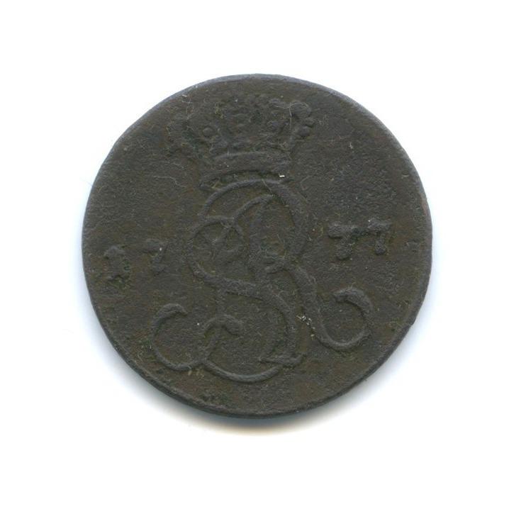1 грош - Станислав Август, Речь Посполитая 1777 года