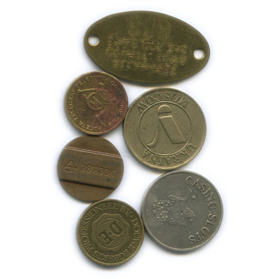 Набор жетонов
