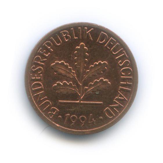 1 пфенниг 1994 года J (Германия)