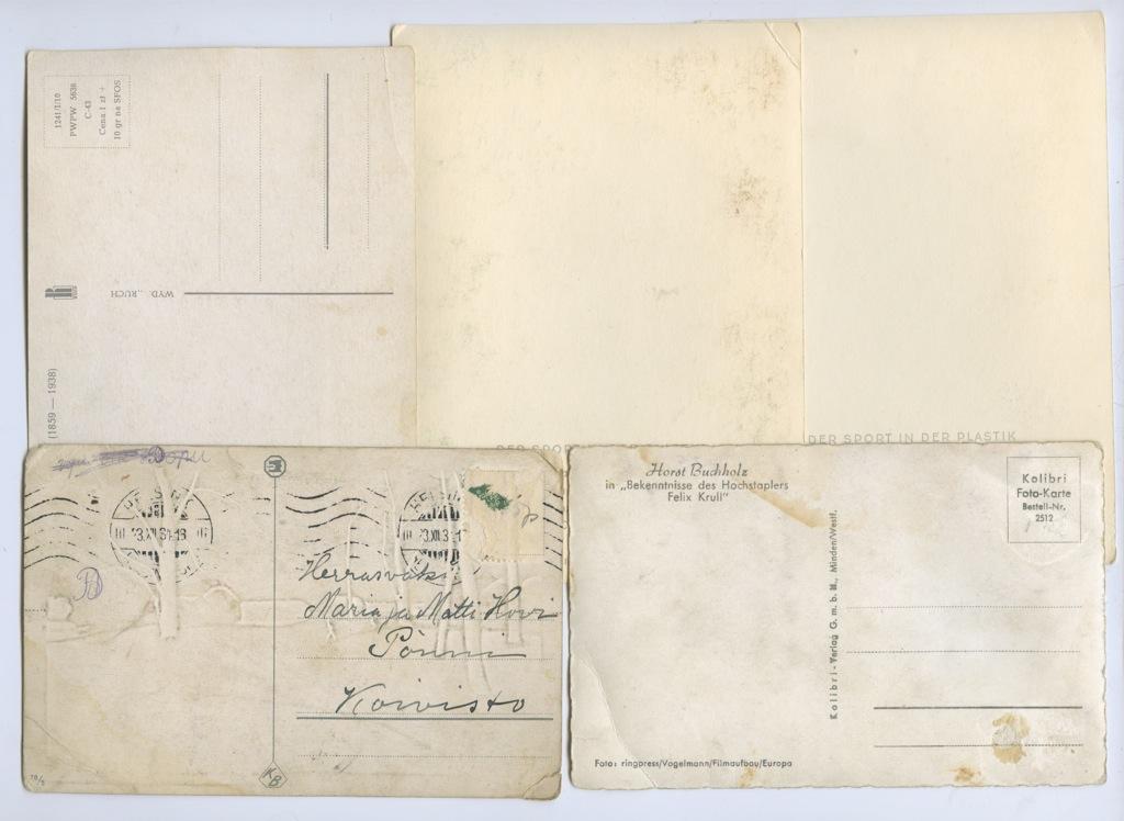 Набор почтовых карточек (разные страны)