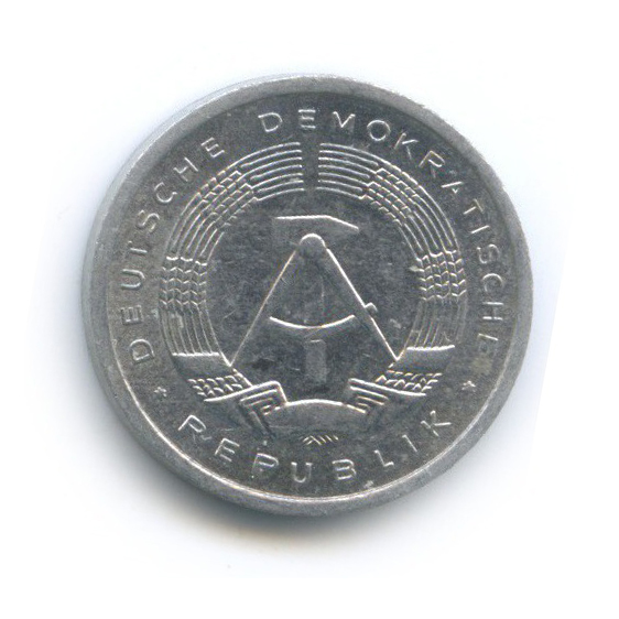 1 пфенниг 1984 года (Германия (ГДР))