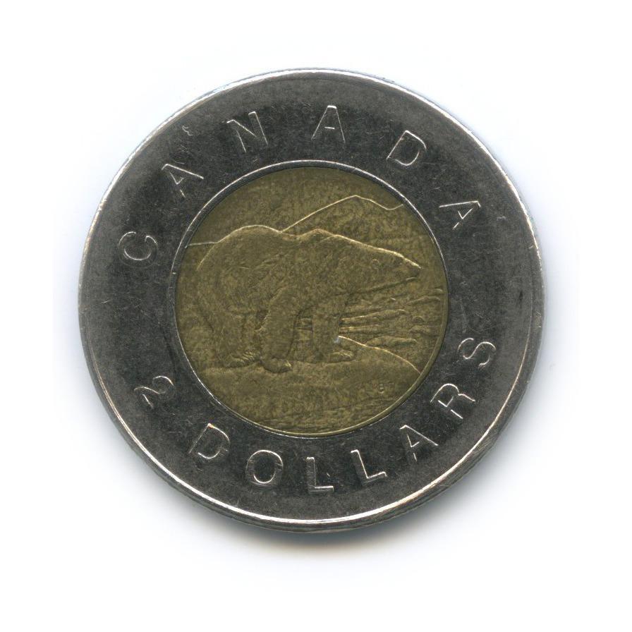 2 доллара 2006 года o (Канада)