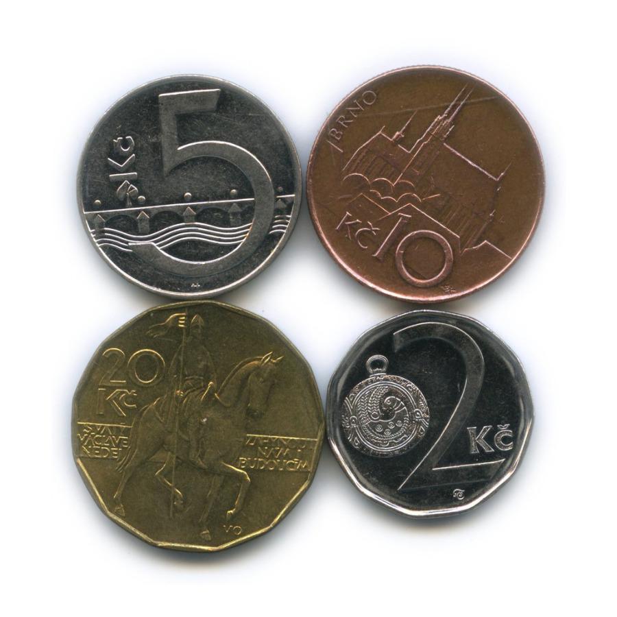 Набор монет (Чехия)