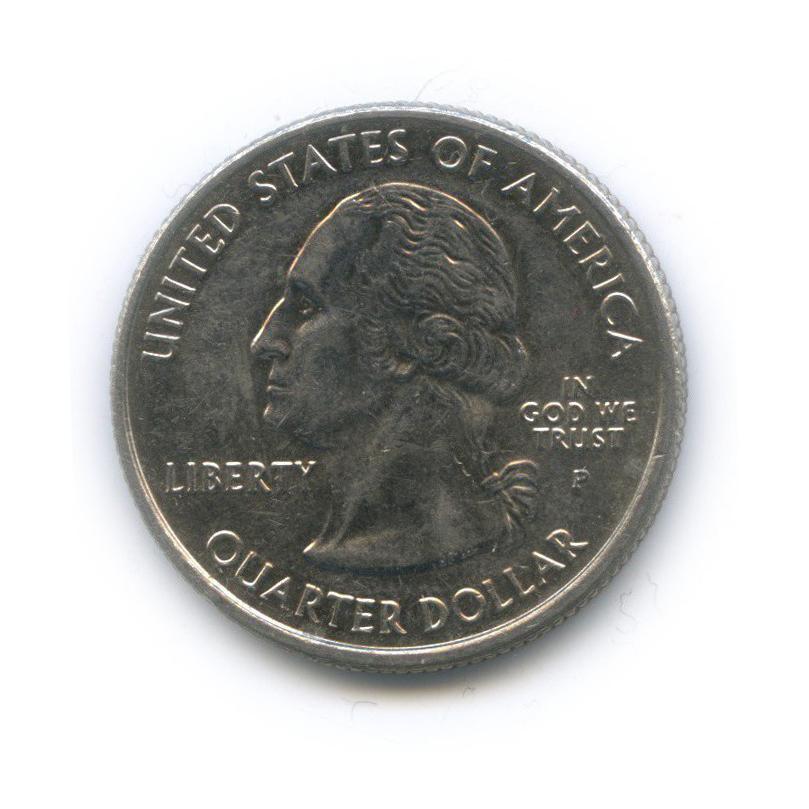 25 центов (квотер) — Квотер штата Вайоминг 2007 года P (США)