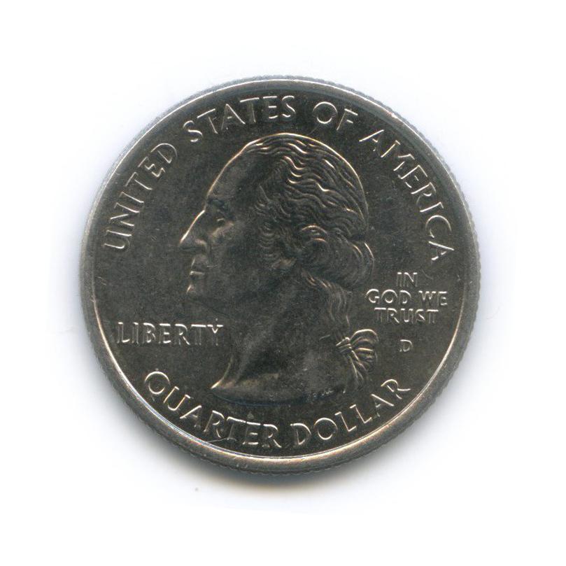 25 центов (квотер) — Квотер штата Колорадо 2006 года D (США)