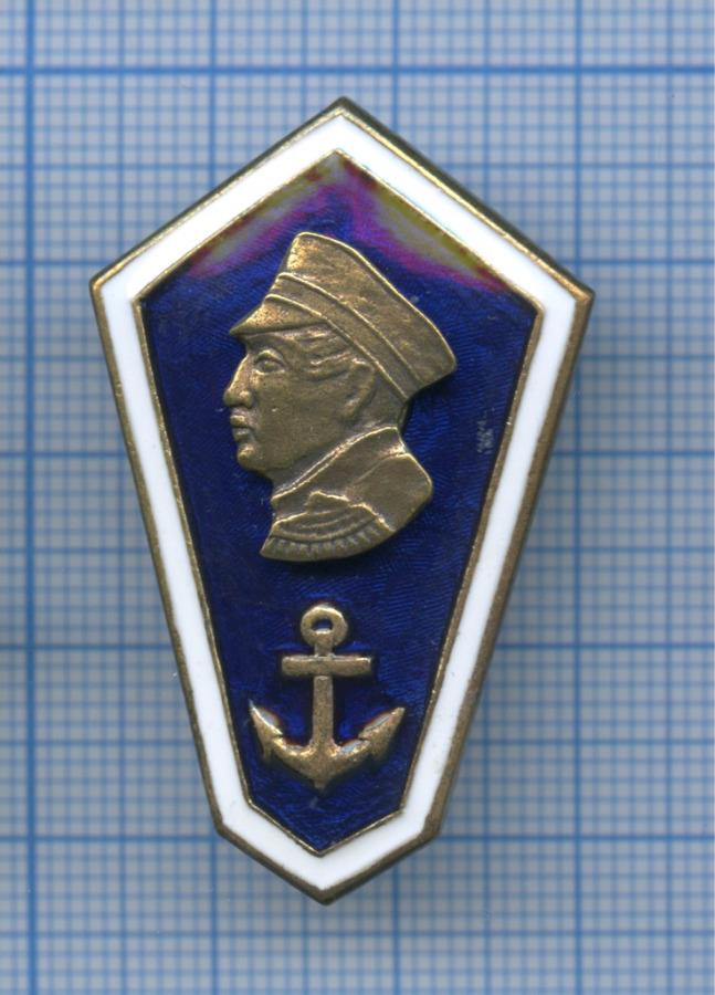 Знак нагрудный «Среднее мореходное образование (Нахимов)» (Россия)
