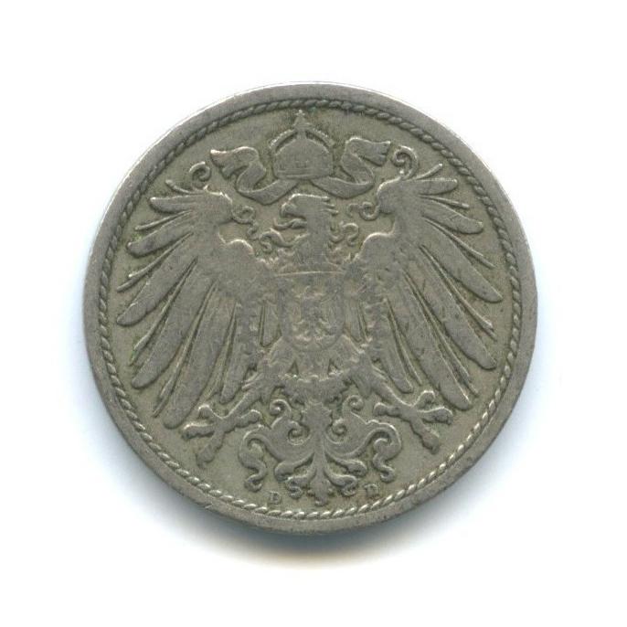 10 пфеннигов 1900 года D (Германия)