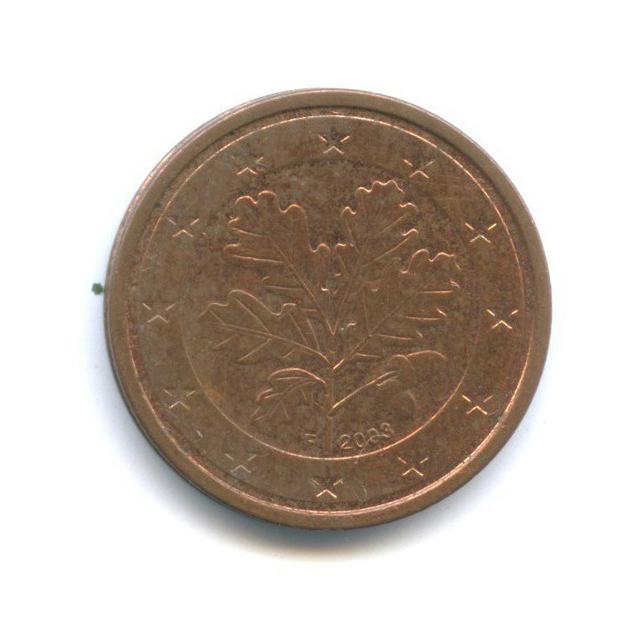 2 цента 2003 года F (Германия)