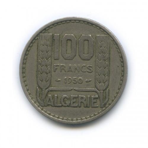 100 франков, Алжир 1950 года (Франция)