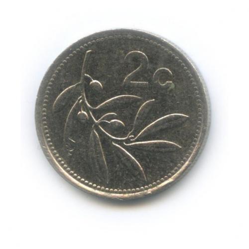 2 цента 1991 года (Мальта)