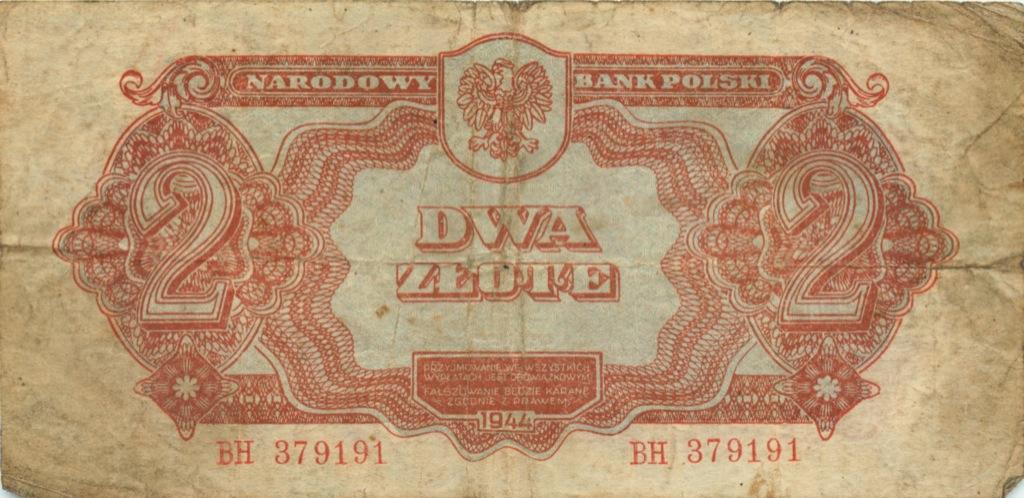 2 злотых 1944 года (Польша)