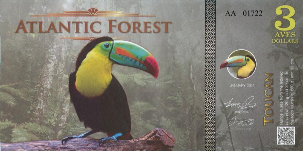 3 доллара (Атлантический лес) 2013 года
