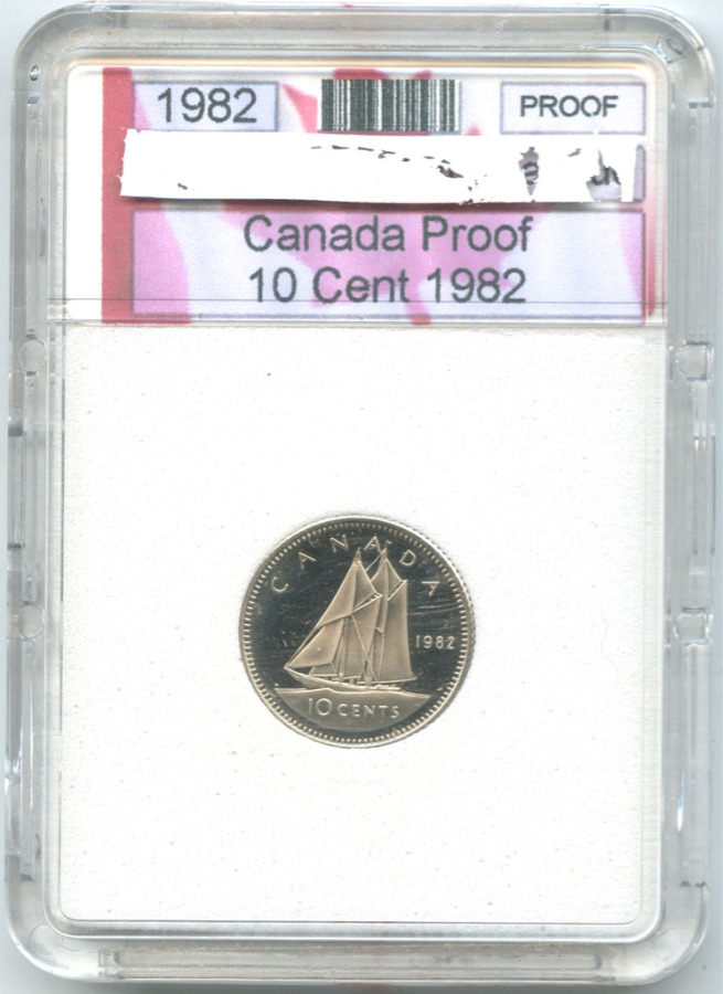 10 центов 1982 года (Канада)