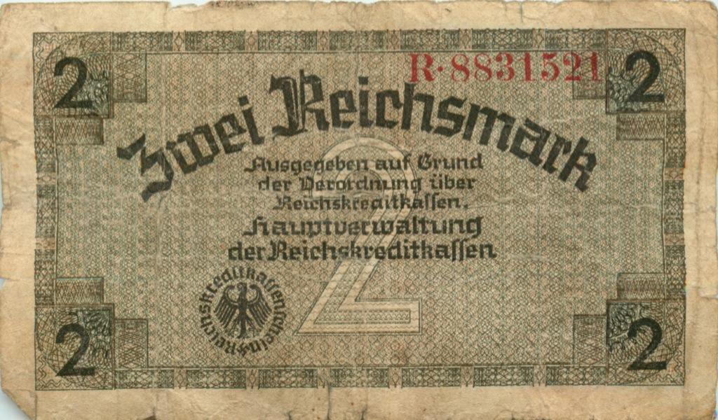 2 рейхсмарки (Германия (Третий рейх))