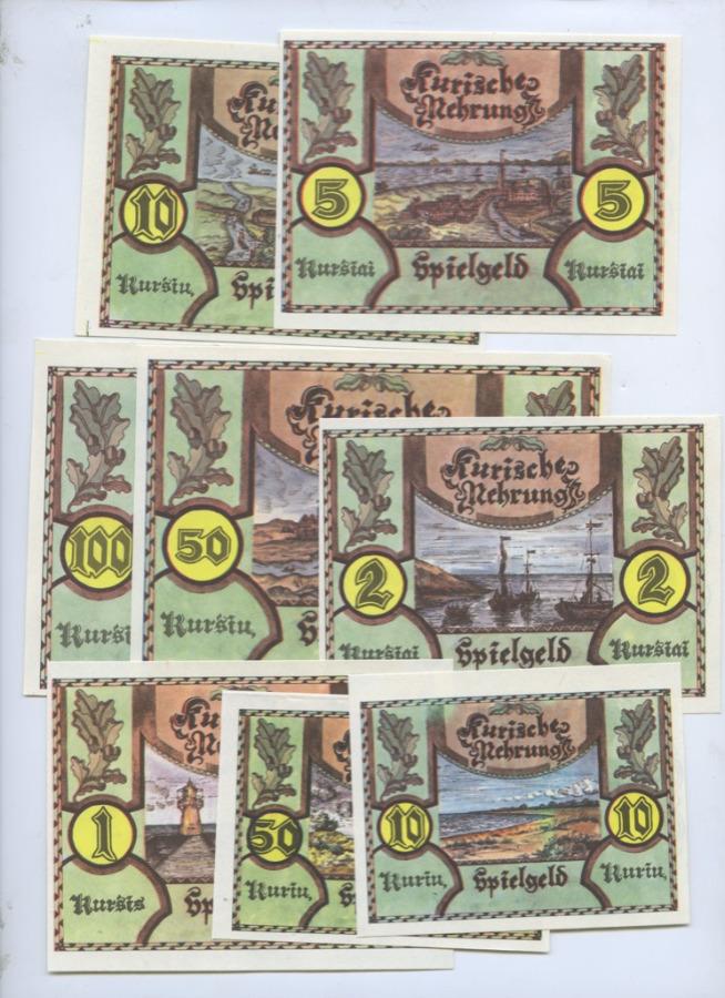 Набор банкнот (Литва)