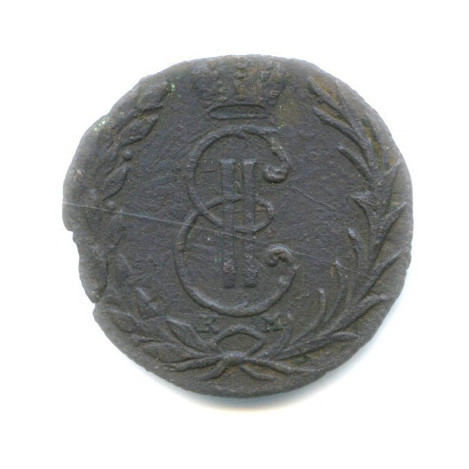 Денга (1/2 копейки) 1768 года КМ (Российская Империя)