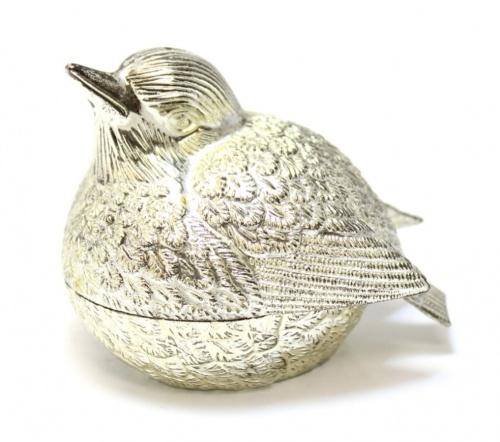 Перечница «Птица» (металл, 6 см)