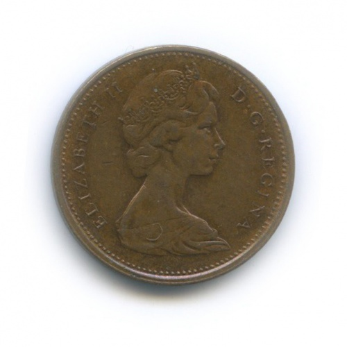1 цент 1973 года (Канада)