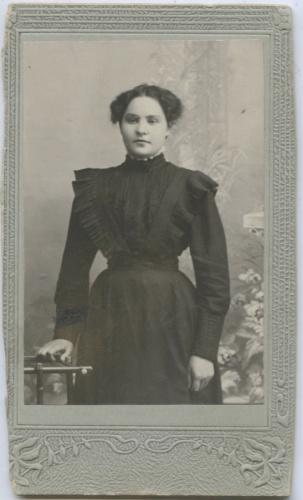 Фотокарточка 1910 года (Российская Империя)