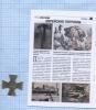 Знак «Белая гвардия» (копия)  сжурналом «Досье коллекция», выпуск №32 (34 стр.) 2013 года (Россия)