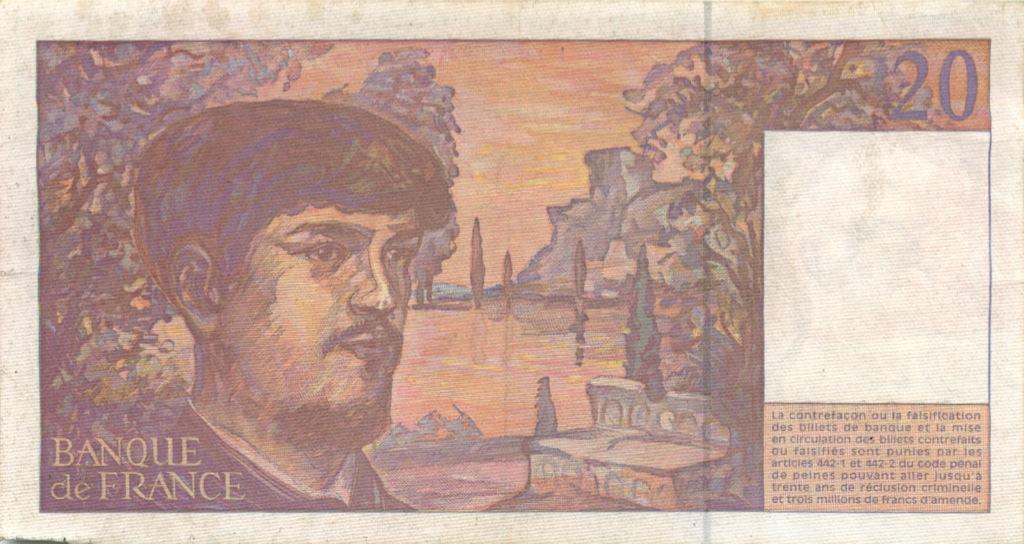 20 франков 1997 года (Бельгия)