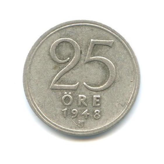 25 эре 1948 года (Швеция)