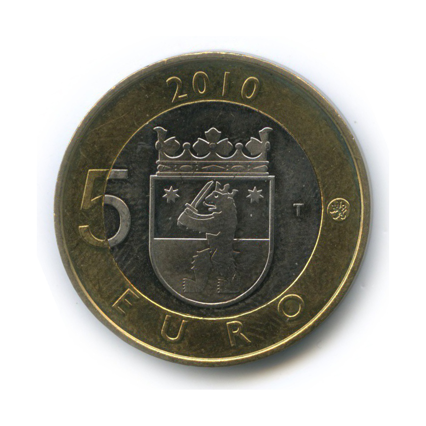 5 евро — Исторические регионы Финляндии - Сатакунта 2010 года (Финляндия)