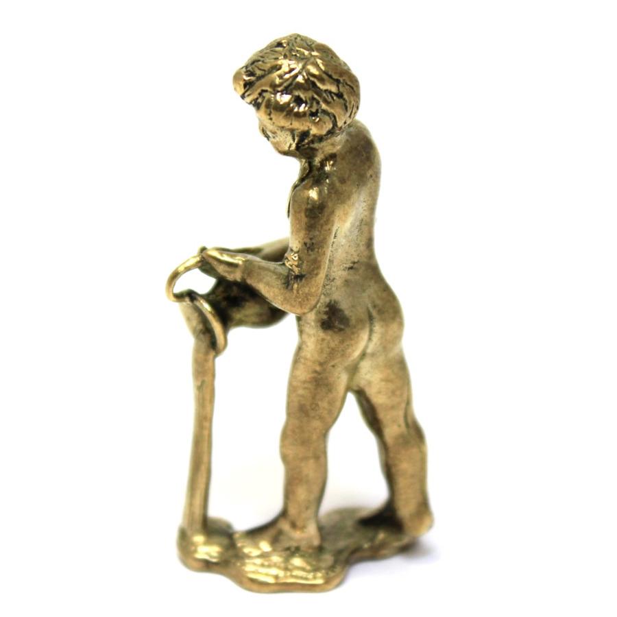 Фигурка «Мальчик скувшином» (5 см, литье, бронза)