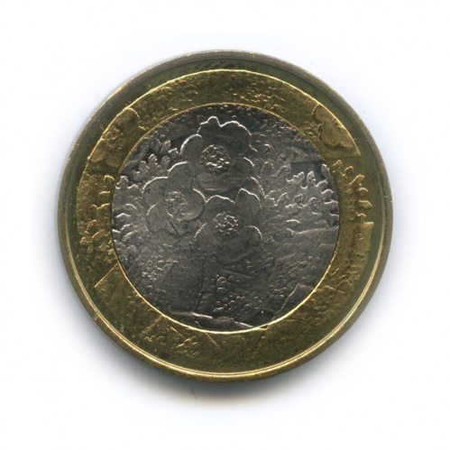5 евро — Северная природа - Флора 2012 года (Финляндия)