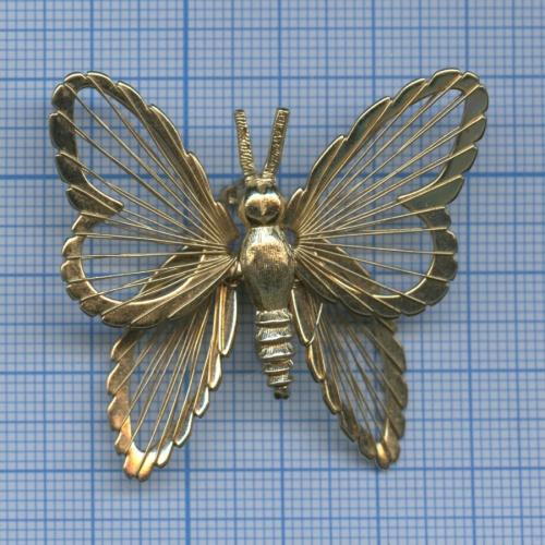 Брошка «Бабочка» (тяжелый металл)