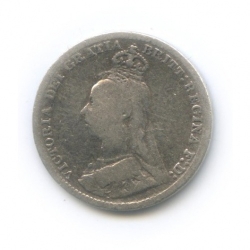 3 пенса 1892 года (Великобритания)