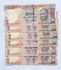 Набор банкнот 1000 рупий (Индия)