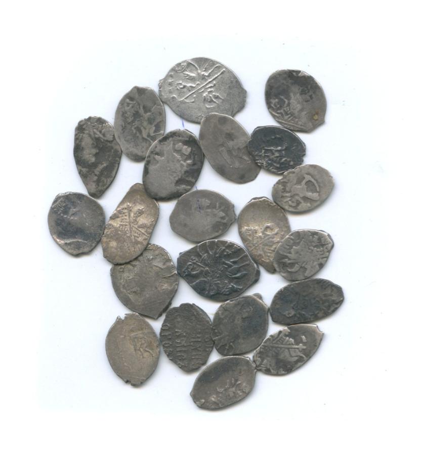 Набор монет «чешуя» (21 шт.)