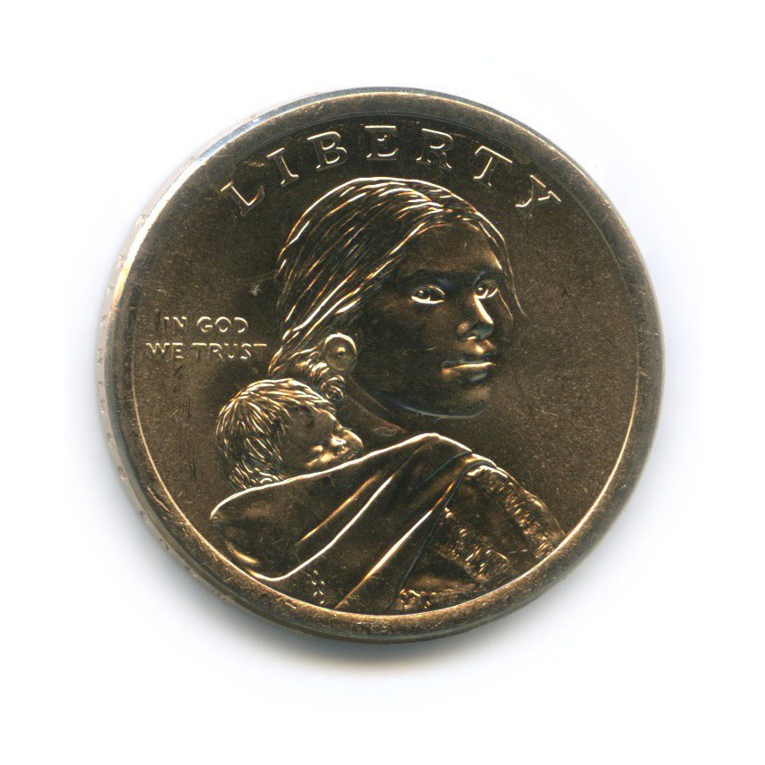 1 доллар - Мохоки - Коренные Американцы 2015 года D (США)
