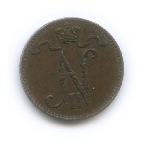 1 пенни 1909 года (Российская Империя)