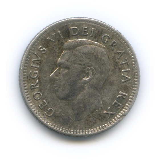10 центов 1950 года (Канада)