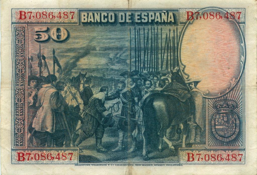 50 песет 1928 года (Испания)