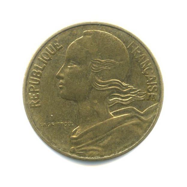 10 сантимов 1980 года (Франция)