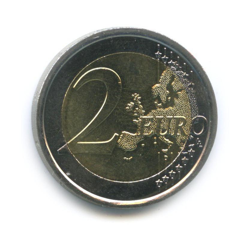2 евро - 450 лет содня рождения Галилео Галилея 2014 года (Италия)