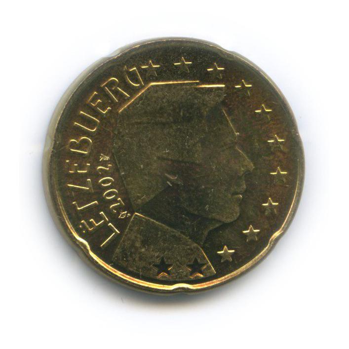 20 центов 2002 года (Люксембург)