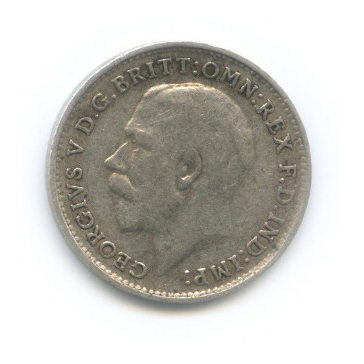 3 пенса 1917 года (Великобритания)