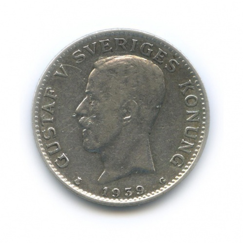 1 крона 1939 года (Швеция)