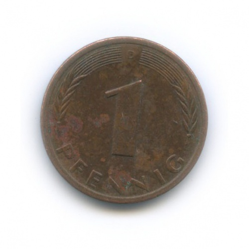 1 пфенниг 1978 года D (Германия)
