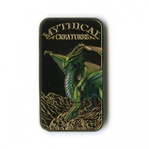 25 шиллингов - Мифические существа - Дракон, Республика Сомали (цветная эмаль) 2013 года