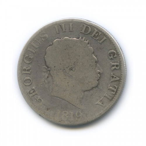 1/2 кроны - Георг III 1819 года (Великобритания)