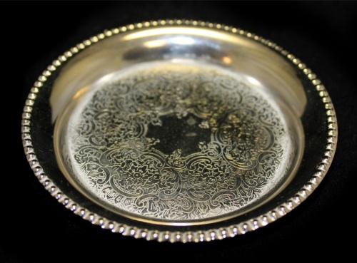 Конфетница (серебрение, 10,5 см) (Великобритания)